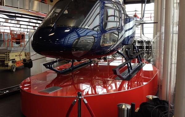 Complexe Capital Hélicoptère – Podium