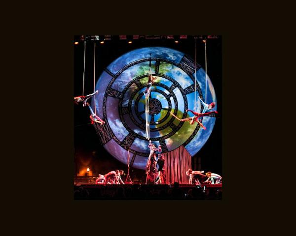 Décor Cirque du Soleil