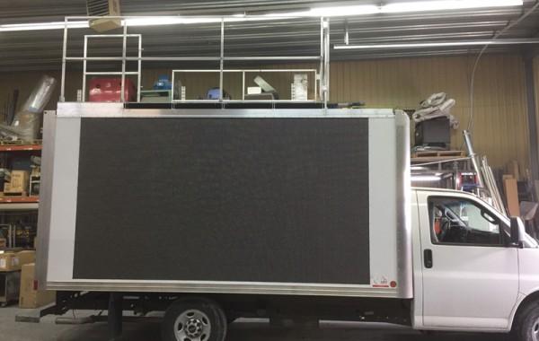 Camion écran – Grand Défi