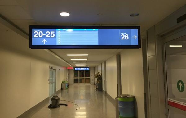Signalisation aéroport de Québec